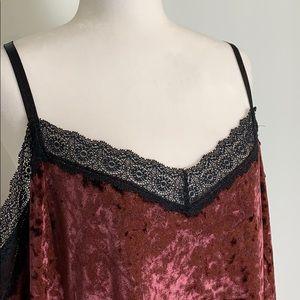 Cacique Intimates & Sleepwear - Cacique Velvet Sleep Dress